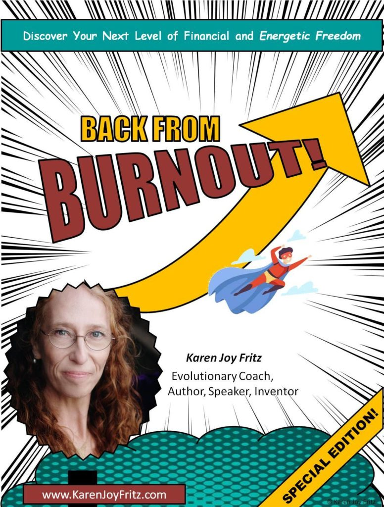 Back from Burnout cover